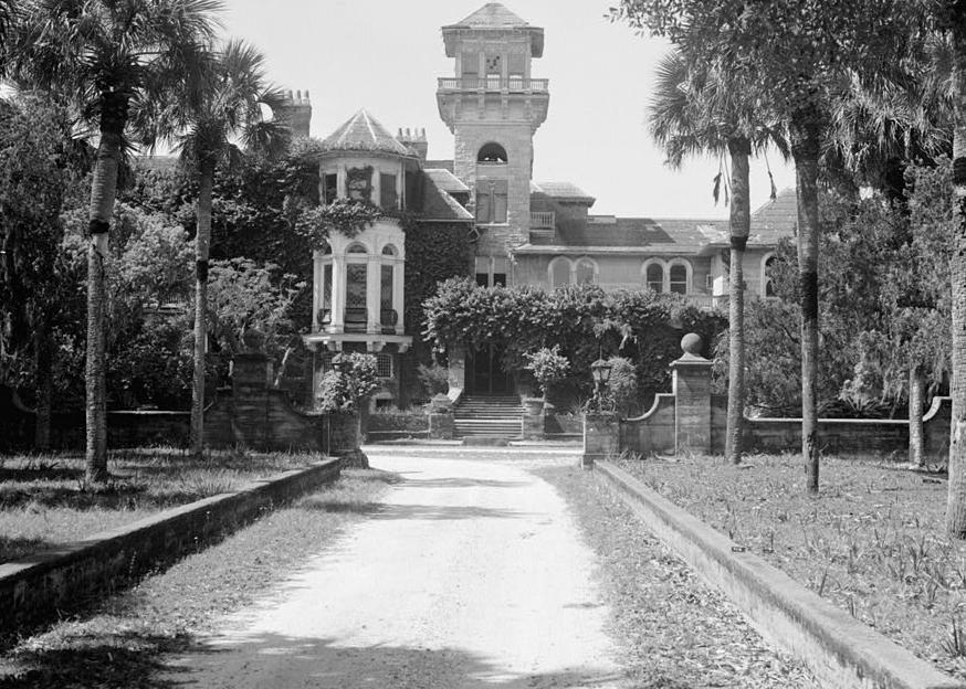 Pictures Dungeness Carnegie Family Mansion St Marys Cumberland Island Georgia