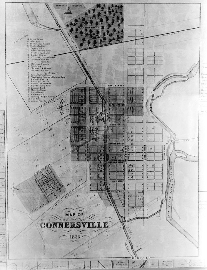 Maps Of Connersville Roots Blower Company Connersville Indiana