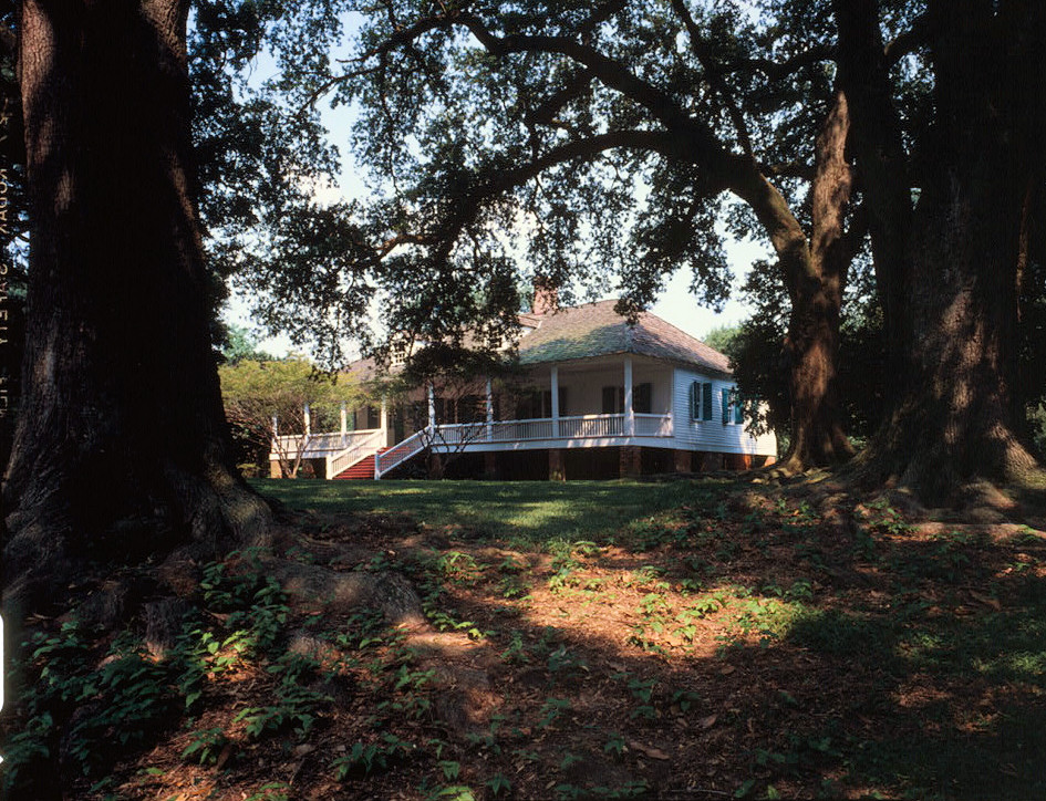 Front Elevation Of House With Porch : Exterior pictures magnolia mound plantation baton rouge