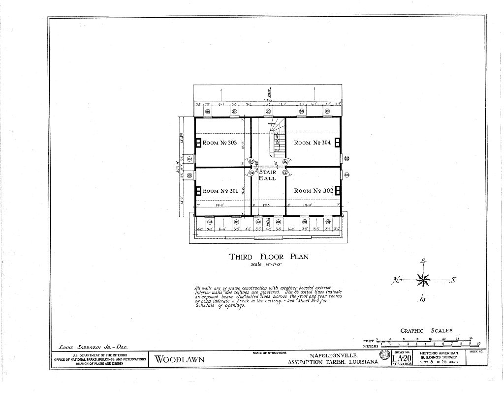 Woodlawn plantation mansion napoleonville louisiana floor Louisiana plantation house plans