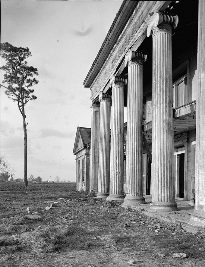 Home Front Elevation Jersey : Pictures woodlawn plantation mansion napoleonville