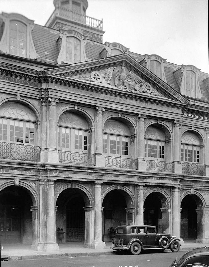 Home Front Elevation Jersey : Pictures the cabildo new orleans louisiana
