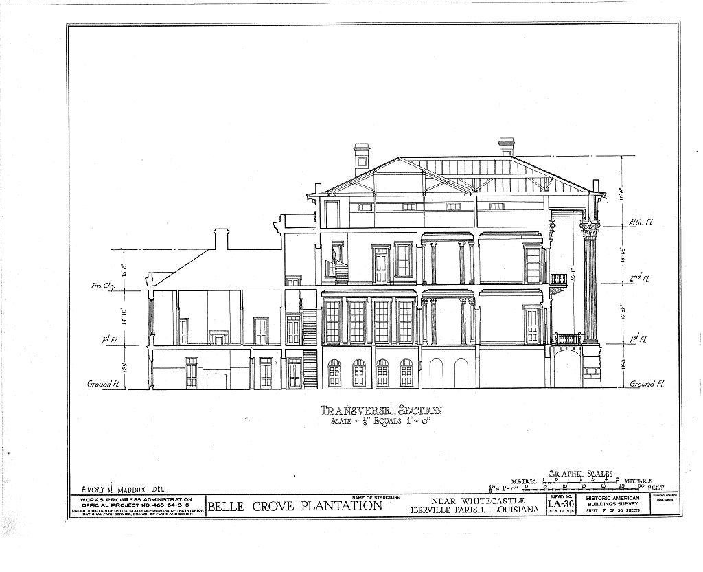 Antebellum floor plans pictures to pin on pinterest for Plantation house floor plans