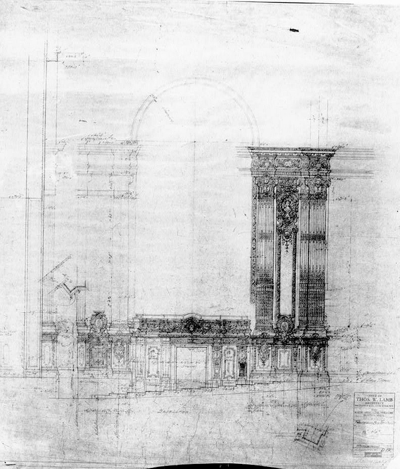 Blueprints 2 bf keith memorial theater opera house boston bf keith memorial theater opera house boston massachusetts october 27 1927 proscenium box malvernweather Choice Image