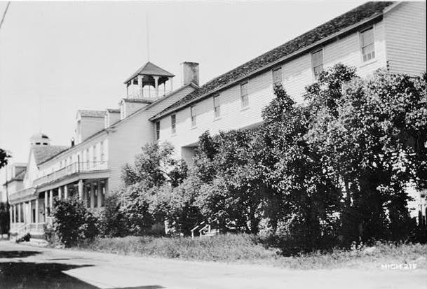 1936. FRONT ELEVATION (From East)