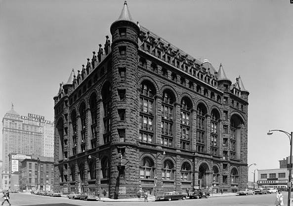 Erie County Savings Bank, Buffalo New York Pictures