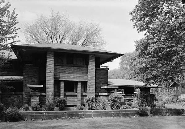 May 1965, SOUTH (FRONT) ELEVATION.