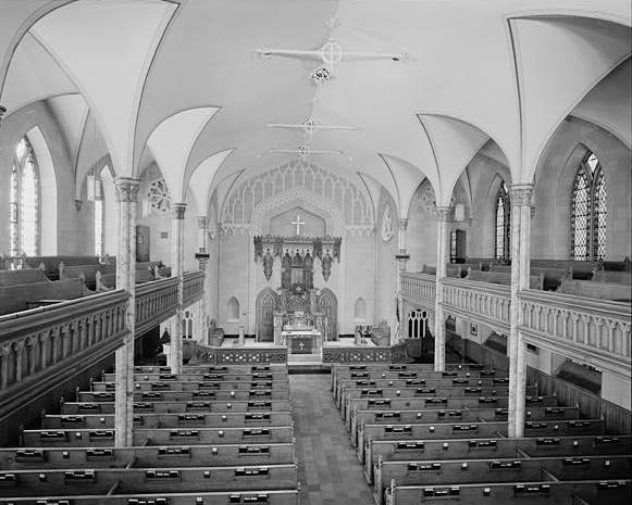 GENERAL VIEW TOWARD ALTAR