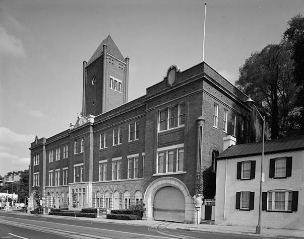 1966 General Exterior View of South (front) Facade and East Side